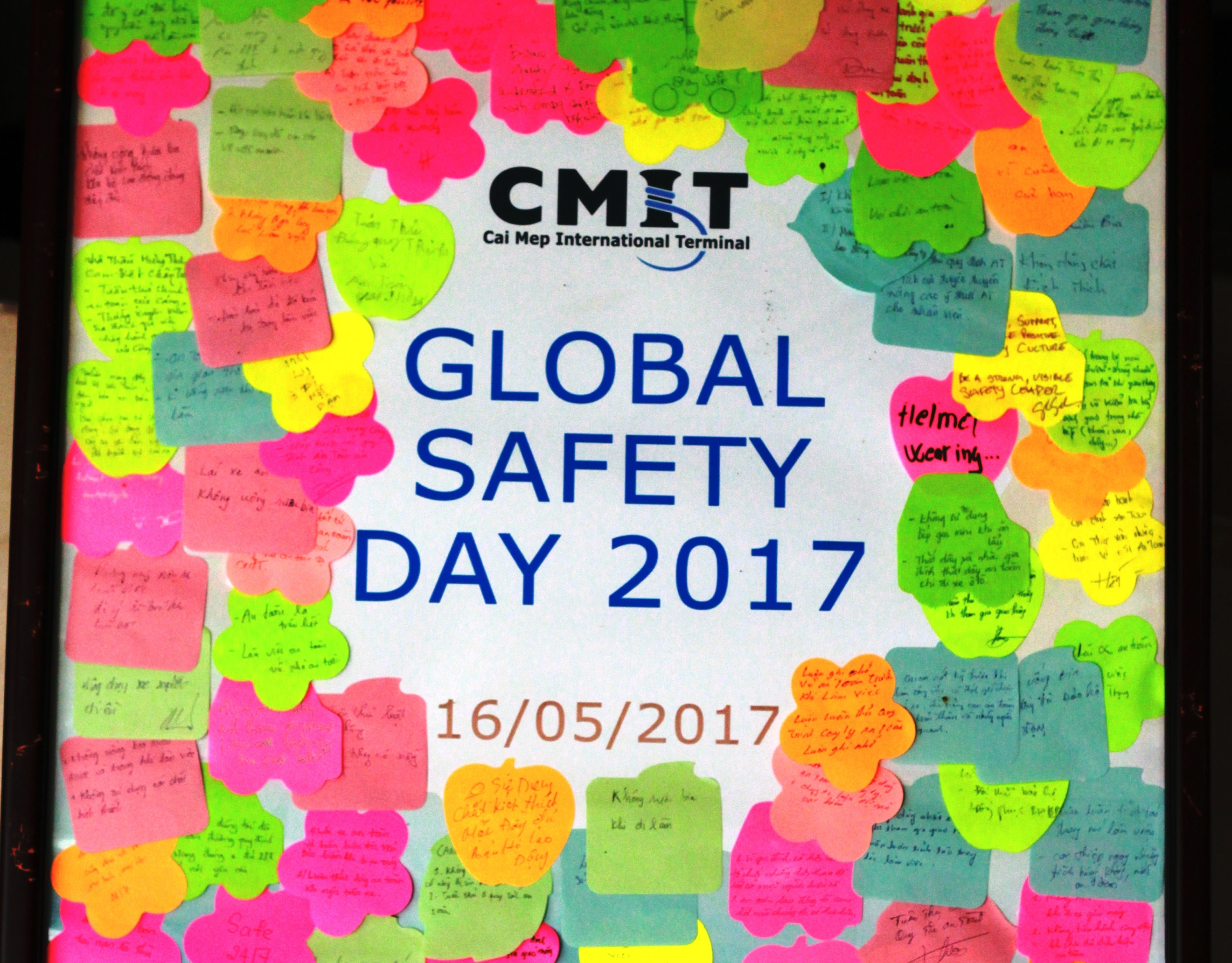CMIT Global Safety Day - 16th May 2017